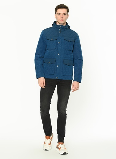Timberland Timberland TB0A1YBCU481 Quilted M65 GIBRALTAR SEA Mont Renkli